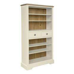 Meghan Oak Bookcase