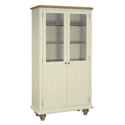 Meghan Oak Display Cabinet