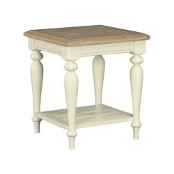 Meghan Oak Lamp Table