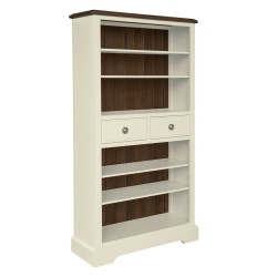 Meghan Walnut Bookcase