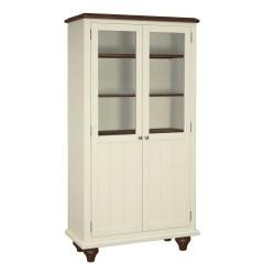 Meghan Walnut Display Cabinet