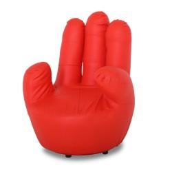 Red Hand Chair
