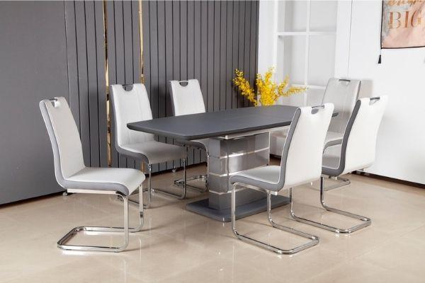 Modena Dark Grey Extension Table